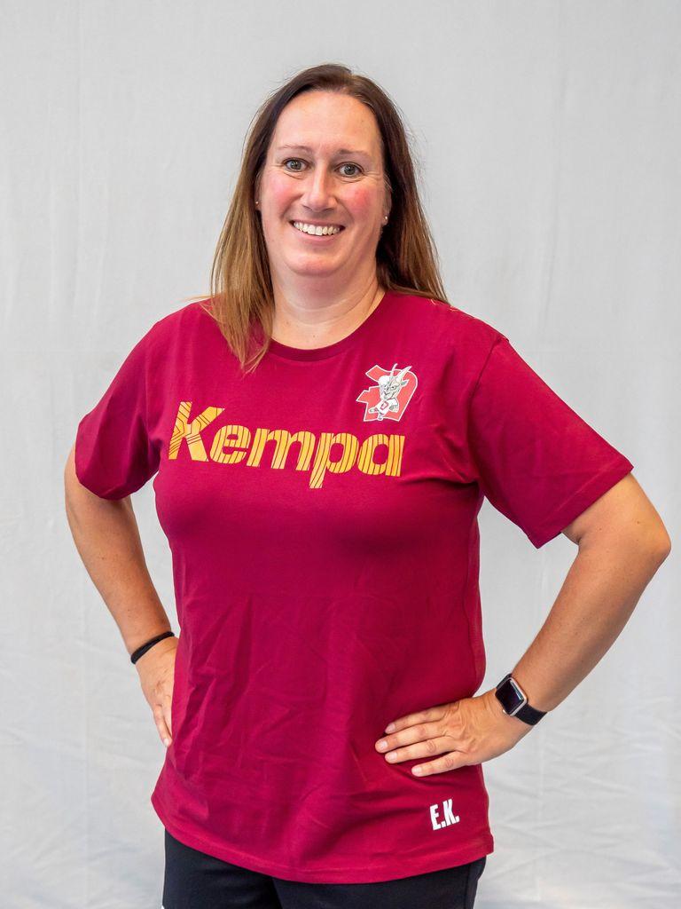 Trainerin F-Jugend Elke Kraaz